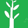 Tree On Green by Anita Dale Livaditis