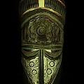 Tribal Mask  Print by David Dehner