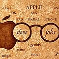 Tribute To Steve Jobs 2 Digital Art by Georgeta  Blanaru