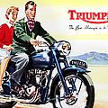 Triumph 1953 by Mark Rogan