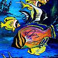 Tropical Fish by Karon Melillo DeVega