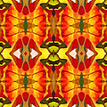 Tropical Leaf Pattern 2 Print by Amy Vangsgard