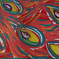 Tropical Peacock by Jennifer Schwab