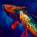 Trout Dreams by Savlen Art