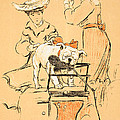 Tug of War Print by Cecil Charles Windsor Aldin