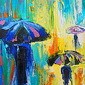 Turquoise Rain by Susi Franco