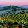 Tuscan Dusk by Michael Swanson