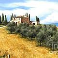 Tuscan Sentinels by Michael Swanson