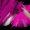 Tutu Stage Left Abstract Fuchsia by Andee Design
