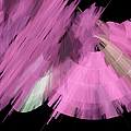 Tutu Stage Left Abstract Pink by Andee Design