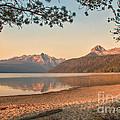 Twilight At Redfish Lake  by Robert Bales