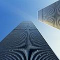 Twin Towers Print by Jon Neidert