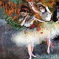Two Dancers Entering The Scene by Pg Reproductions