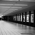 u-bahn platform and station Berlin Germany by Joe Fox