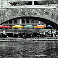 Umbrellas Of Many Colors by John Kain