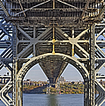 Under The George Washington Bridge I by Susan Candelario