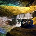 Underground Waterfall 2 by Mark Papke