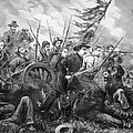 Union Charge At The Battle Of Gettysburg by War Is Hell Store