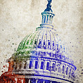 United States Capitol Dome by Aged Pixel