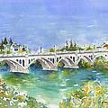 University Bridge by Pat Katz