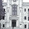 University of Arkansas Print by Frederic Kohli