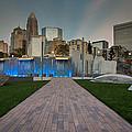 Uptown Charlotte by Serge Skiba