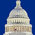 Us Capitol Dome by Susan Candelario