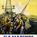 Us Marines by Leon Alaric Shafer