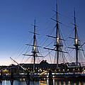 Uss Constitution And Bunker Hill Monument by Juergen Roth
