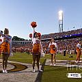 UVA Cheerleaders Print by Jason O Watson