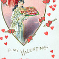 Valentine Card by English School