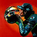 Valentino Rossi Portrait by Paul Meijering