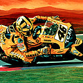 Valentino Rossi The Doctor by Paul Meijering