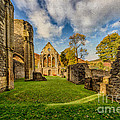 Valle Crucis Abbey Ruins by Adrian Evans