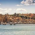 Port Of Valleta by Maria Coulson