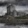 Vampire Castle Print by Juli Scalzi