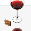 Vampire Wine Glass by Dennis James