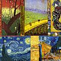 Van Gogh Collage by Philip Ralley