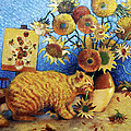 Van Gogh's Bad Cat by Eve Riser Roberts