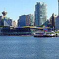 Vancouver Bc Skyline Panorama Canada. by Gino Rigucci