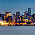 Vancouver From Lonsdale Quay by Alexis Birkill