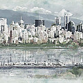 Vancouver Skyline by Maryam Mughal