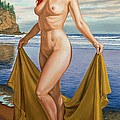Vaunt at the Beach Print by Paul Krapf