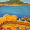 Veduta Di Vesuvio by Pamela Allegretto