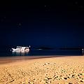 Velvet Night On The Island by Jenny Rainbow