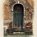 Venetian Door 01 Elena Yakubovich by Elena Yakubovich