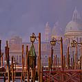 Venezia E La Nebbia by Guido Borelli