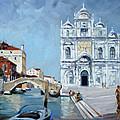 Venice - Scuola Di San Marco by Irek Szelag