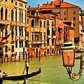 Venice Street Lamp by Mick Burkey