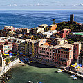 Vernazza From Above by George Oze